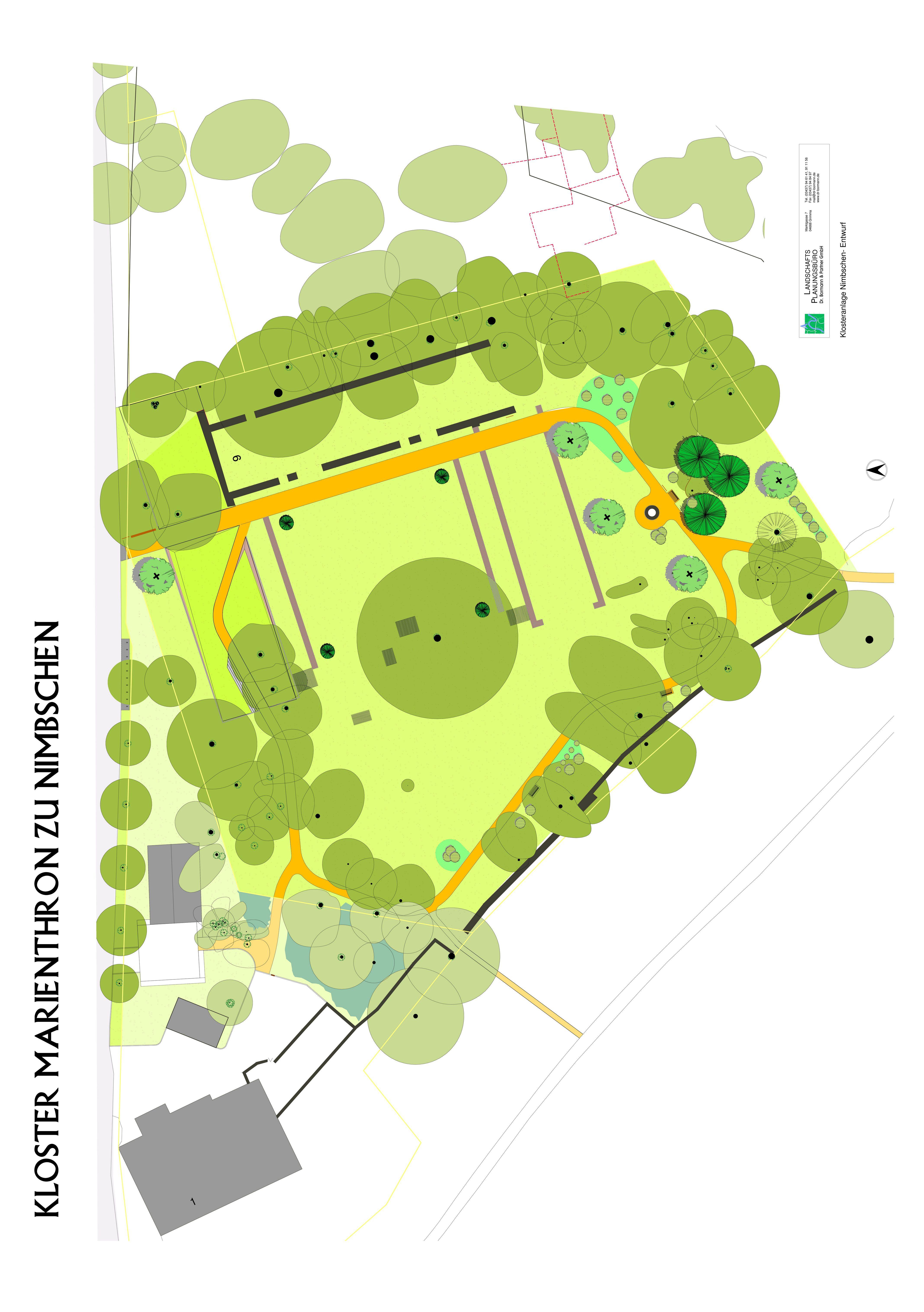 Kloster Nimbschen vereinfachter Lageplan 600dpi
