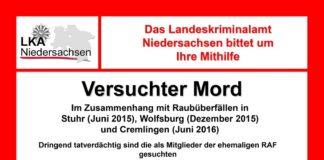 Plakat: LKA Niedersachsen