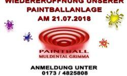 Paintballanlage in Grimma ab Samstag wieder in Betrieb