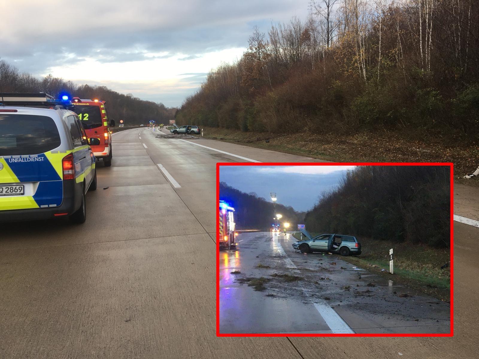 A14 Bild Des Grauens Tödlicher Unfall Zwischen Mutzschen Und